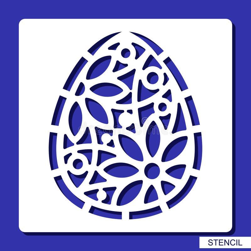 Marquez au poncif - l'oeuf de pâques décoratif illustration de vecteur