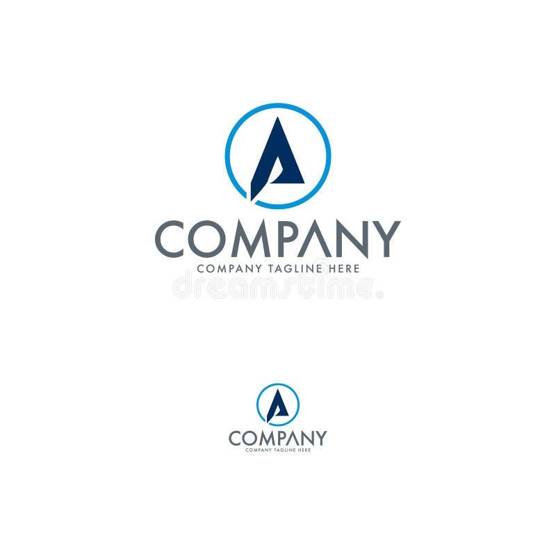 Marquez avec des lettres Logo Design Template illustration stock