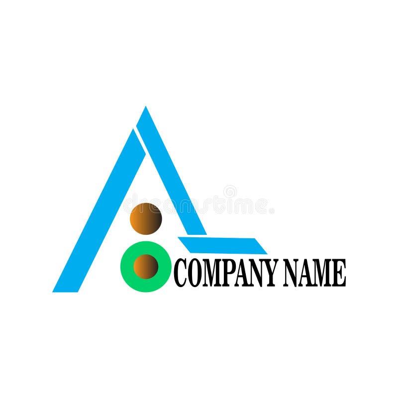 Marquez avec des lettres un logo, dedans illustration libre de droits