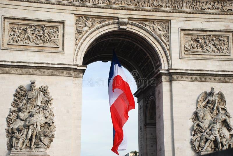marquez les Français photographie stock libre de droits