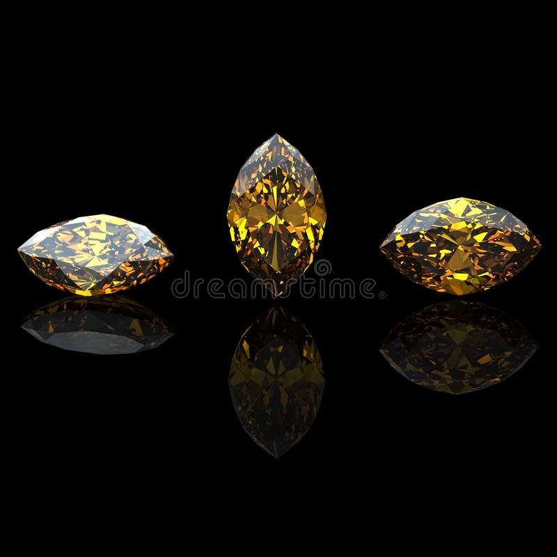 Download Marquis. Citrine.  Jewelry Gems Stock Photography - Image: 27331392