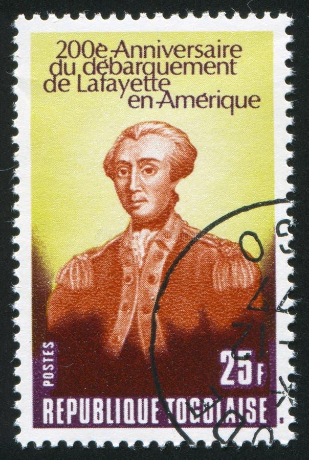 Marquis Lafayette fotografía de archivo