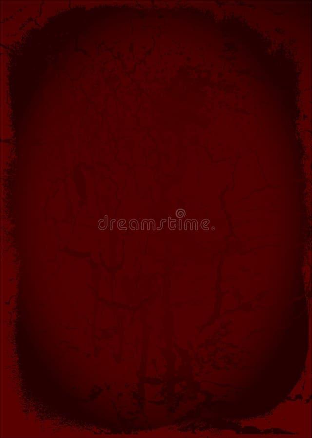 Marrón de Grunge stock de ilustración