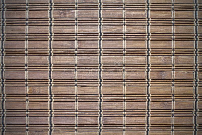 Marrón del bambú del fondo foto de archivo libre de regalías