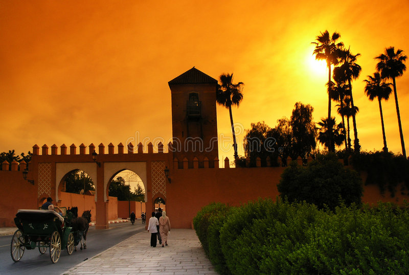 marrakech royaltyfria foton