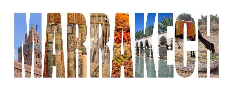 Marrakech royaltyfri bild