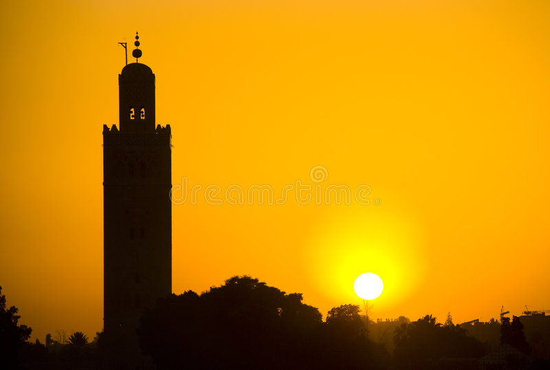 Download Marrakech image stock. Image du morocco, grand, mosquée - 8655289