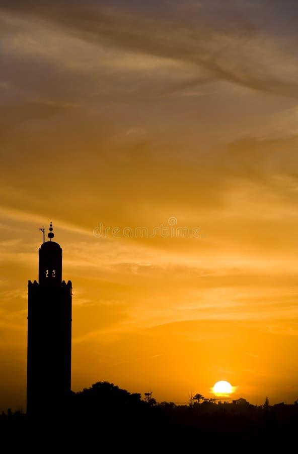 Download Marrakech photo stock. Image du postcard, mosquée, jaune - 8655410