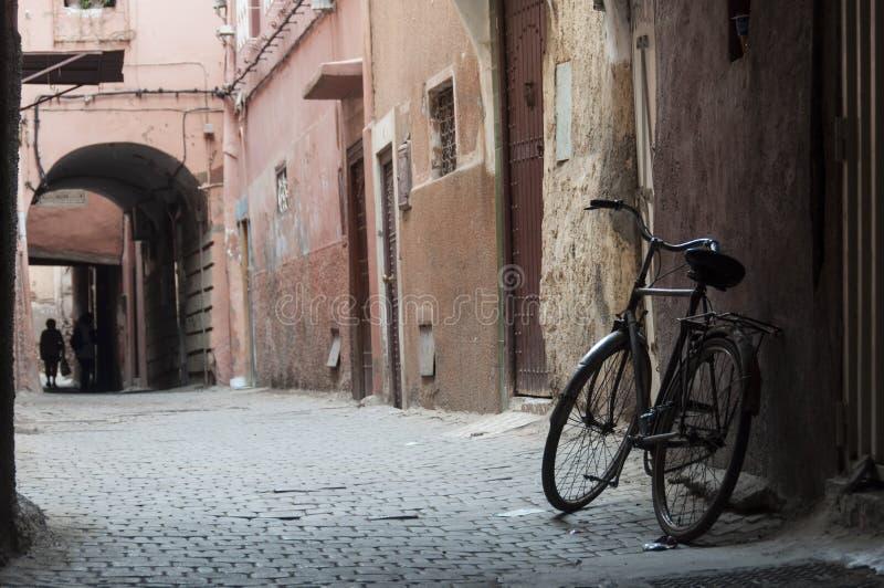 marrakech gator arkivbild