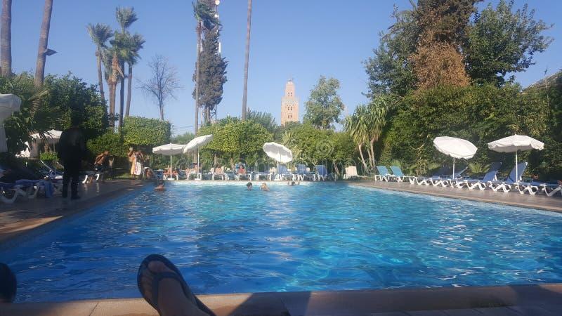 Marrakech Koutoubia photos libres de droits