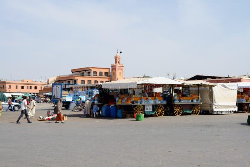 Marrakech marknad royaltyfri foto