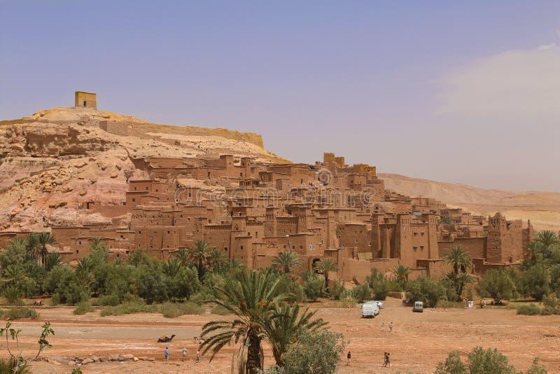 Marrakech naturlandskap i Marocko, Afrika Öken och berg Lopp Marocko wanderlust royaltyfri fotografi