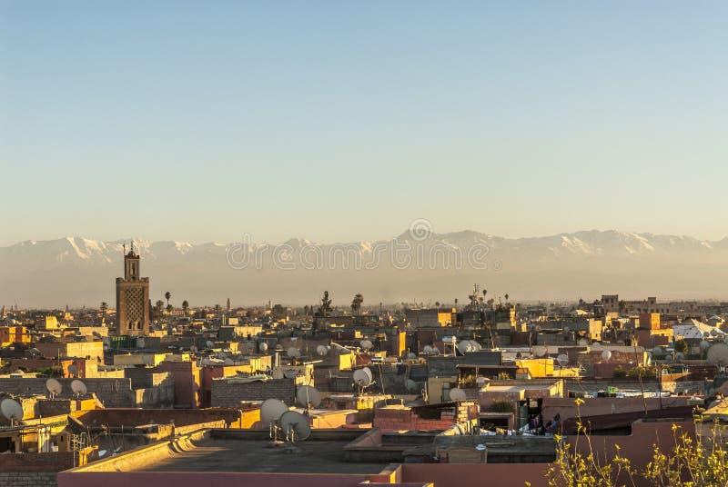 Marrakech w Maroko zdjęcia royalty free
