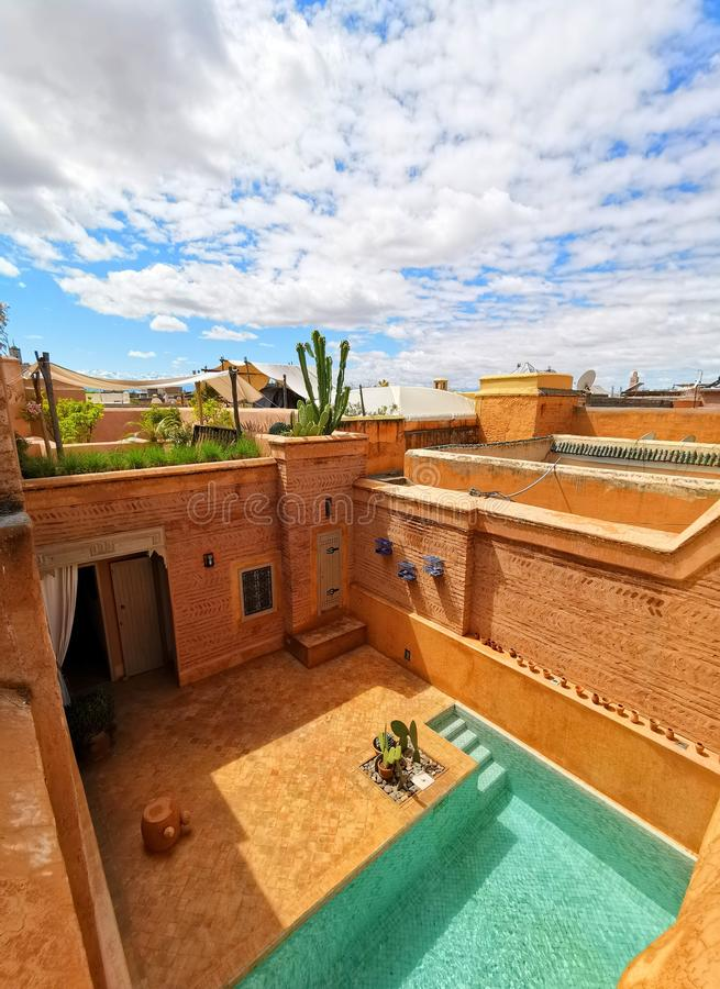 Marrakesch stockbild