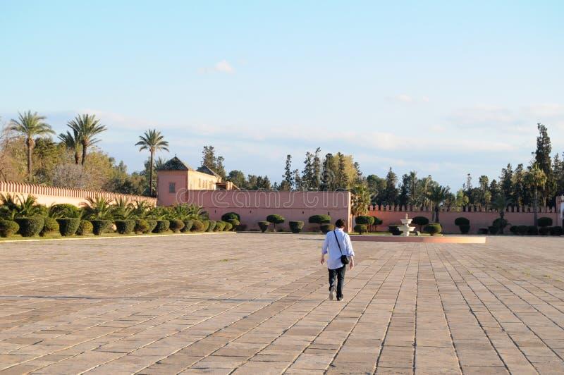 Marrakesch, Marokko, Afrika lizenzfreie stockfotografie