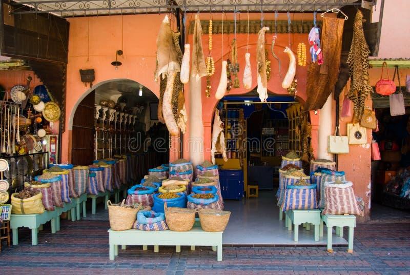 Marrakeschs souk lizenzfreies stockbild