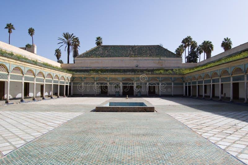 Marrakesh Bahia Palace patio