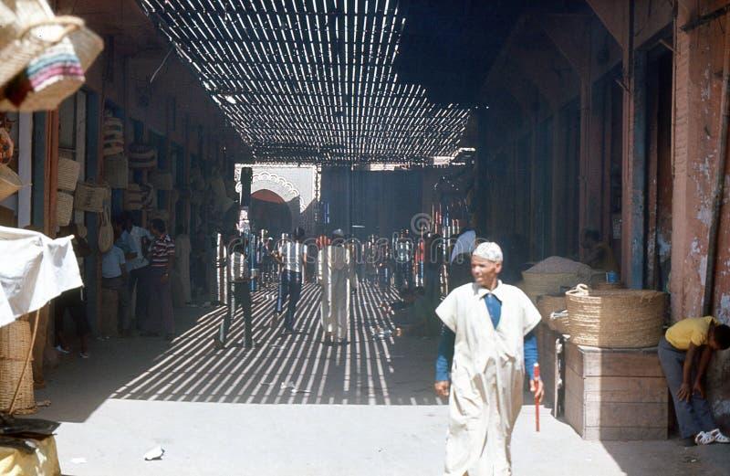 Marrakesh, bazar. Marruecos.