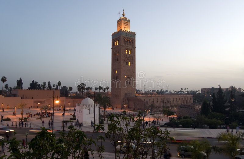 Download Marrakesh Koutoubia Minaret Stock Photography - Image: 8377282