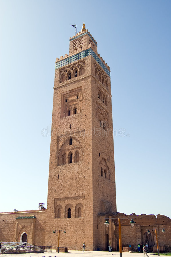 Download Marrakesh Koutoubia Minaret Stock Image - Image of morocco, islam: 8406043