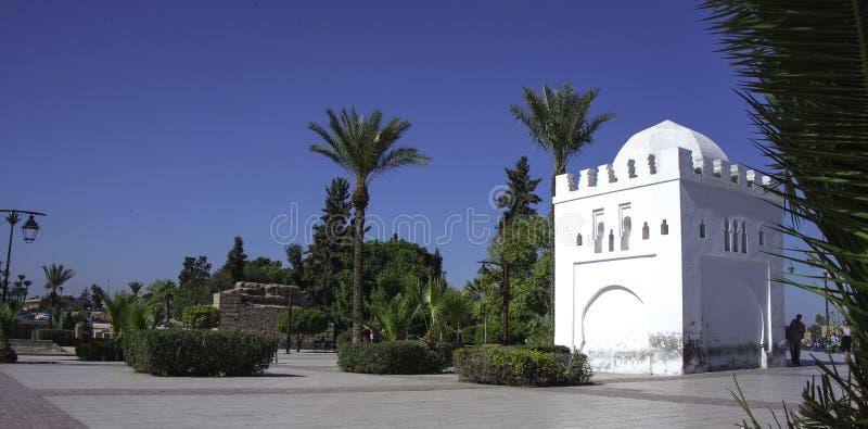 Marrakesh Marocko Afrika royaltyfri foto