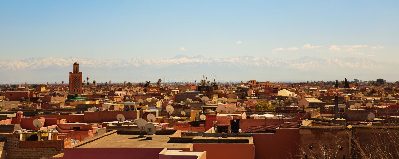 Marrakesh, Morocco. Stock Photo