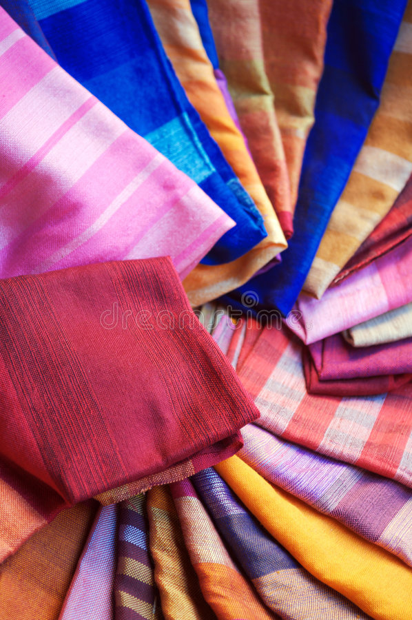 Marrakesh scarves royalty free stock image