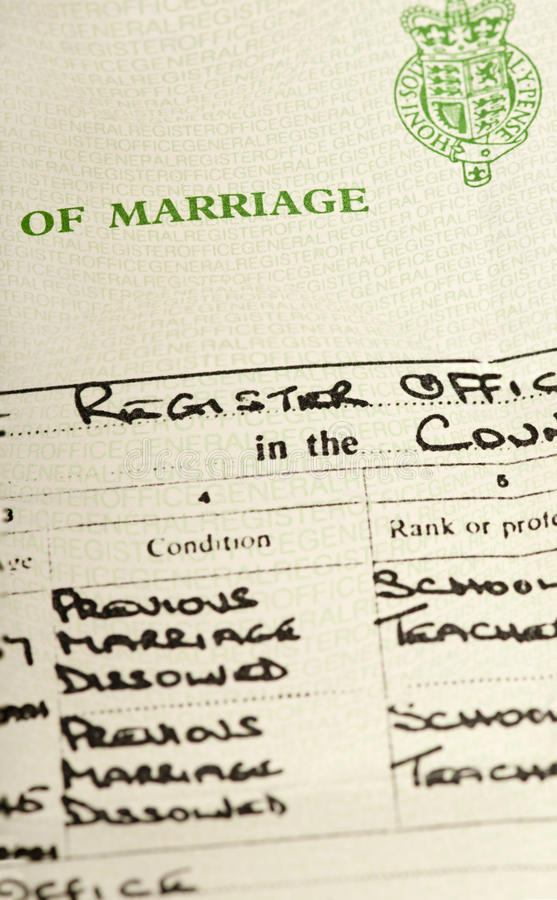 free marriage certificate