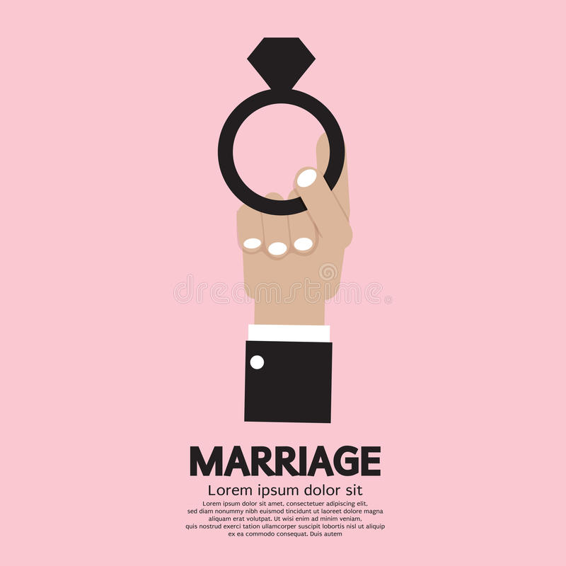 Download Marriage Ring stock vector. Illustration of married, ceremony - 39508080