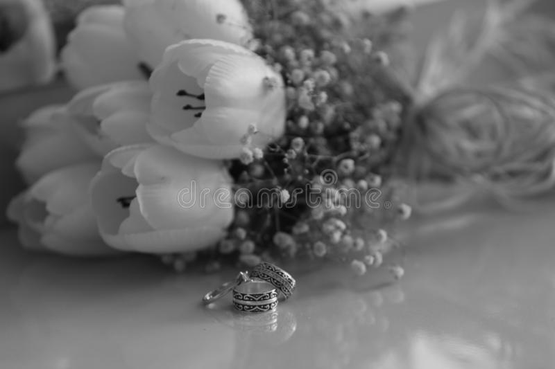 Marriage ring solitaire flower love serenity gallantry comfort tranquillity passion. Marriage ring solitaire flower love serenity comfort tranquillity passion stock images