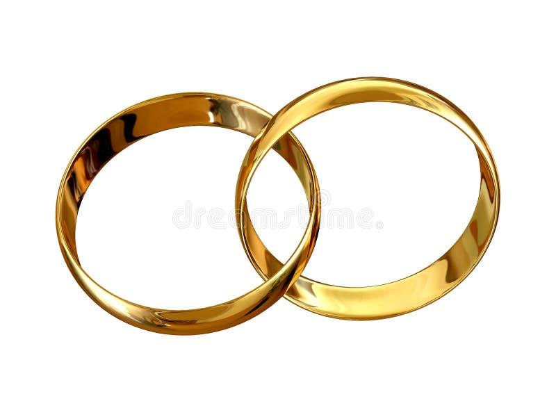 Marriage symbol stock illustration