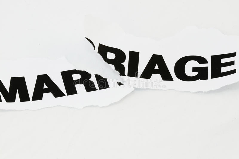 Download Marriage Torn Apart Stock Photo - Image: 14041160