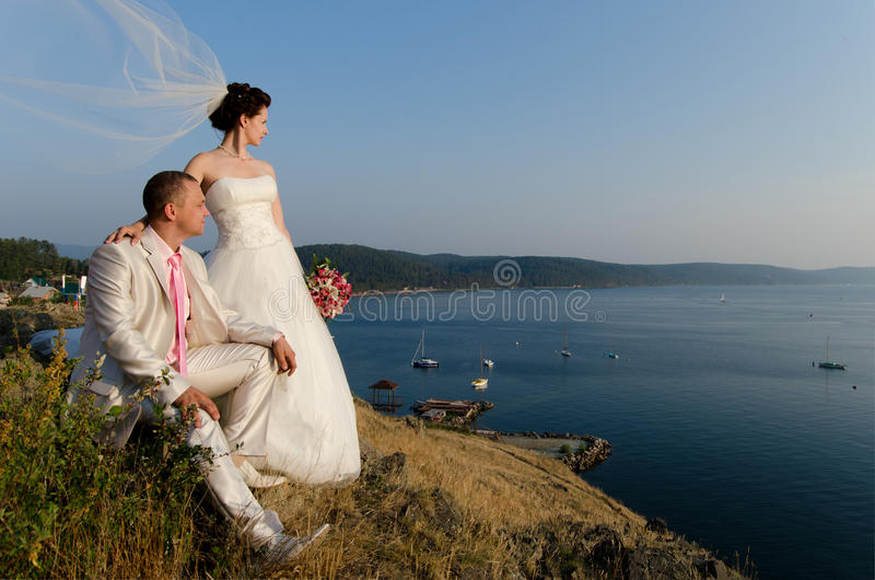 Married couple stock photos