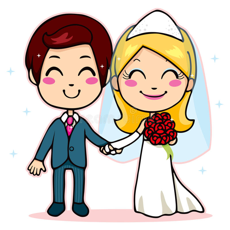 Download Married Couple Holding Hands Stock Vector - Image: 23399439