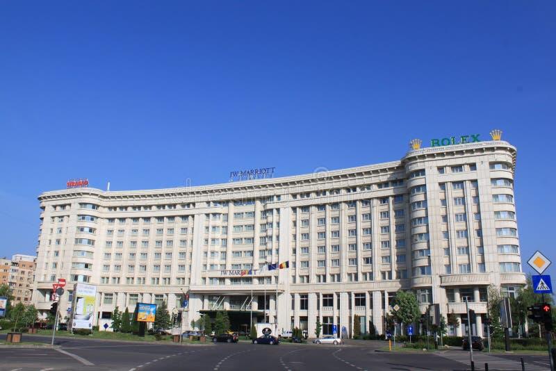Marriot-Hotel lizenzfreies stockbild