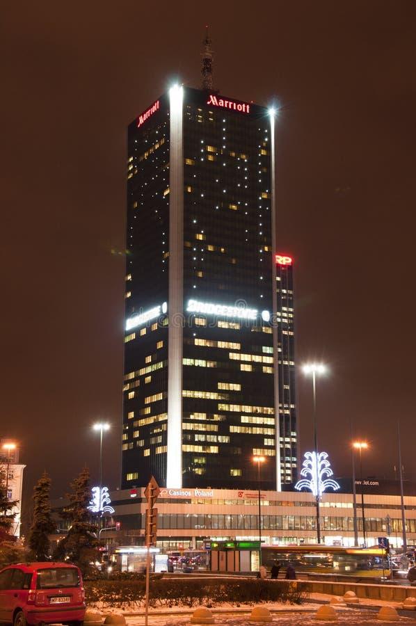 Marriot hotel i Warsaw