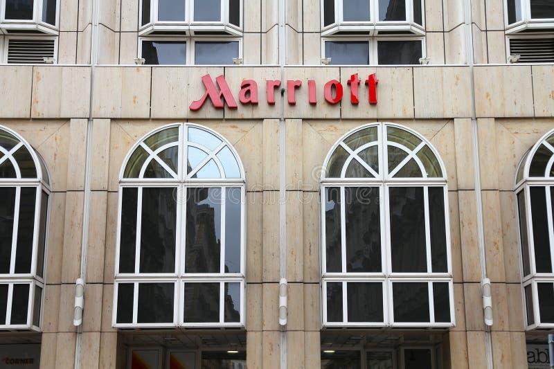 Marriott旅馆 免版税库存图片