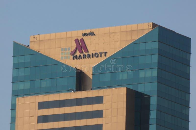 Marriott hotell royaltyfri bild