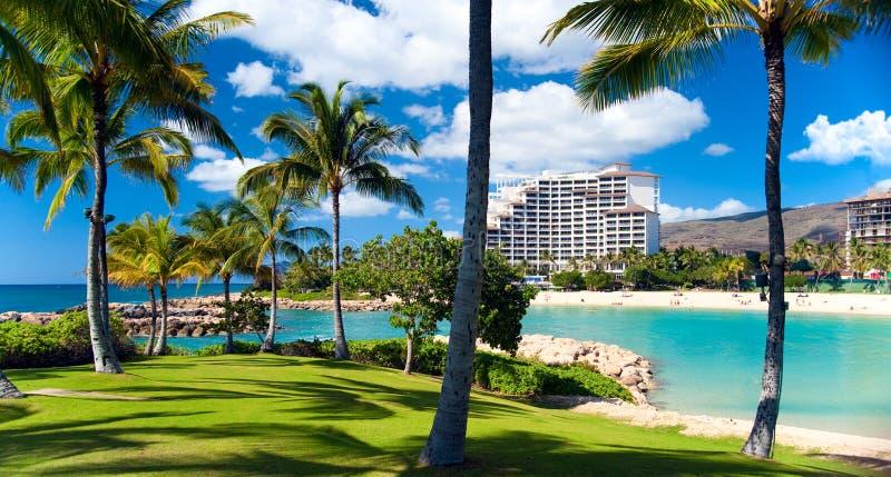 Marriott timeshare resort stock image
