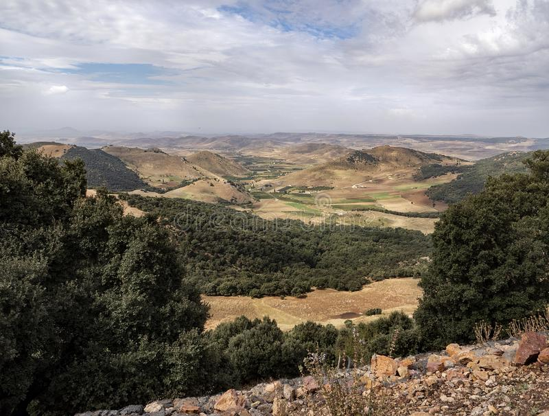 Marrocos cênico fotografia de stock
