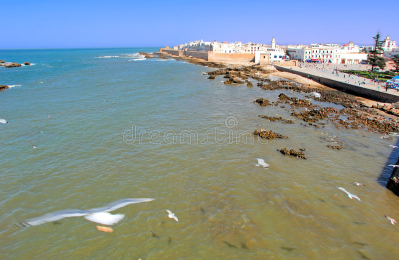 Marrocos, Essaouira fotografia de stock royalty free