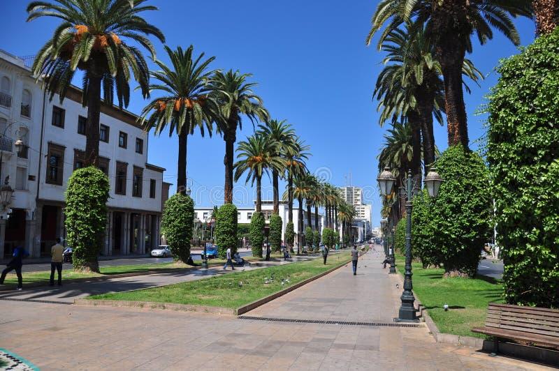 Marrocos, quadrado de Rabat foto de stock