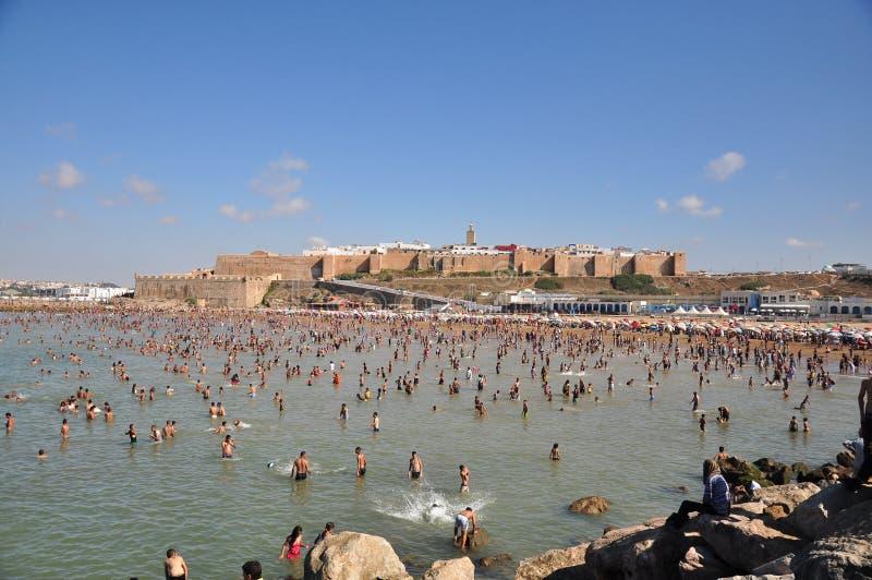 Marrocos, quadrado de Rabat fotos de stock