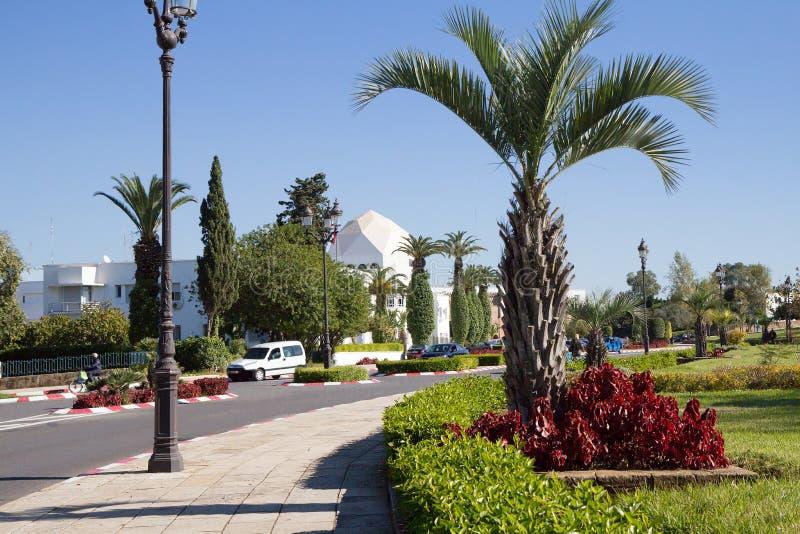 marrocos rabat As terras de Royal Palace imagem de stock
