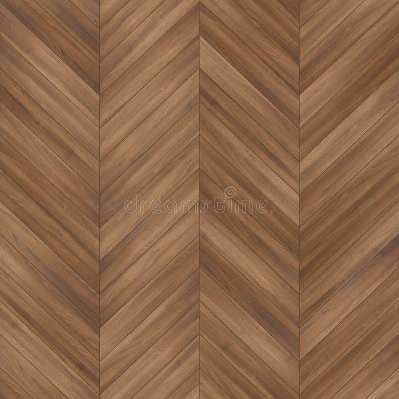 Marrom de madeira sem emenda da viga da textura do parquet fotografia de stock
