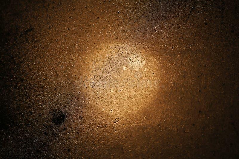 Marrom húmido foto de stock