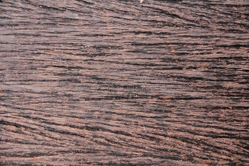 Marrone di legno naturale rustico di struttura immagine stock libera da diritti
