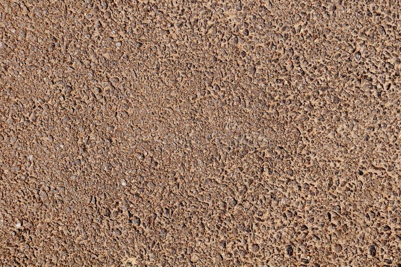 Marrone impresso dell'asfalto fotografia stock