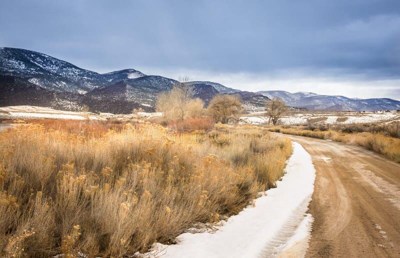 Marrones parque, carretera nacional de Colorado imágenes de archivo libres de regalías
