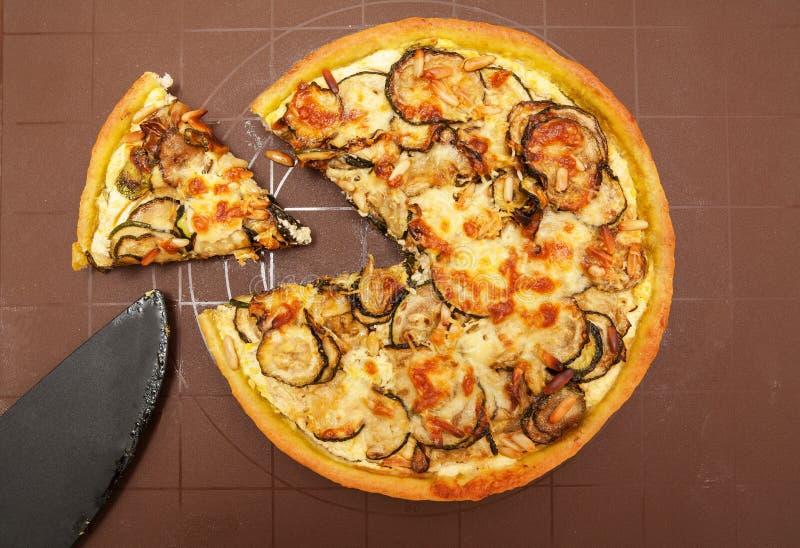 Marrow tart cut stock photos